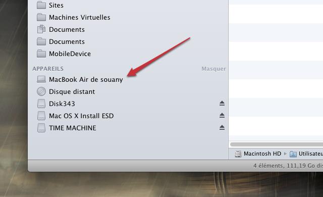 Changer le nom de son ordinateur Mac OS X Lion