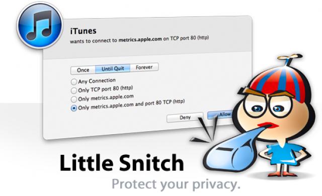 Little Snitch firewall pour Mac OS X