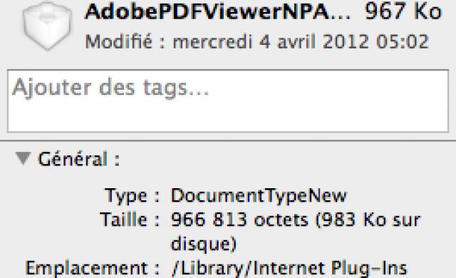 Lire PDF dans Safari