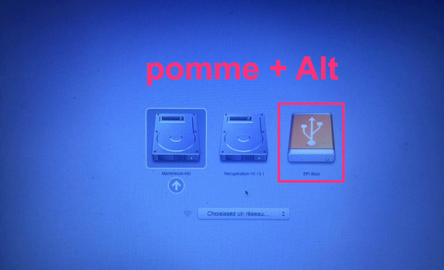 Installing ubuntu on a bootable usb stick on mac
