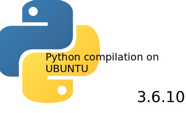 Compile and install Python3.6.10 source on UBUNTU