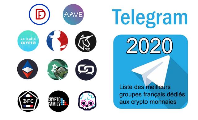 Meilleurs groupes Telegram crypto
