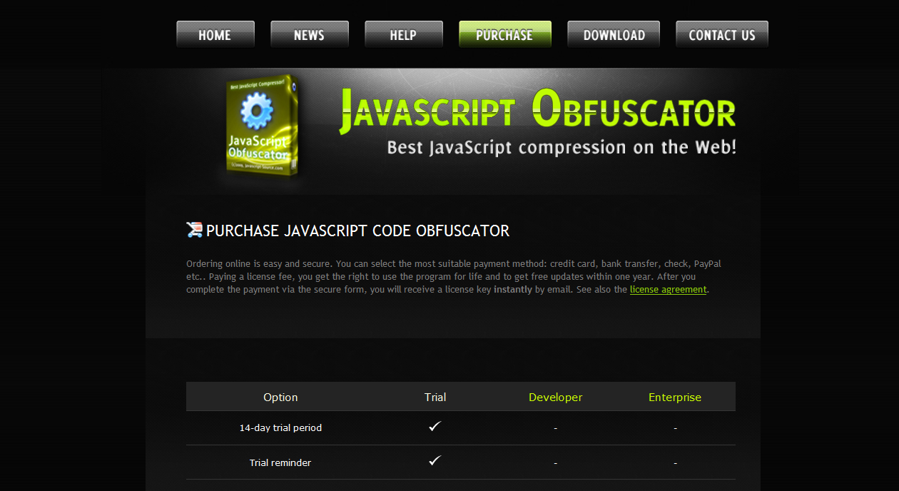 Crypter vos fichiers javascript